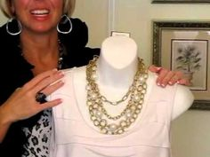 Nancy Hanrahan video demonstrating combos with new Premier Designs Jewelry. July 2012