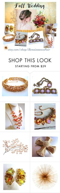 """Fall Wedding"" by renaissance-fair ❤ liked on Polyvore featuring Dot & Bo"