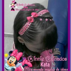 Cintas Buscar, Peinado Infantiles, Citas Célebres, Peinados Con Cintas, Niña Con, Peinados Marti, Peinados Escolares, Azabache, Valen