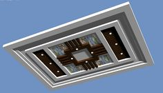 Simple False Ceiling Design, Gypsum Ceiling Design, House Ceiling Design, Ceiling Design Living Room, Living Room Designs, House Design, Pooja Door Design, Hall Design, Tv Wall Design