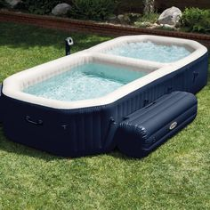 Intex PureSpa Bubble Hot Tub and Pool Combo #HotTub, #Pool, #Spa