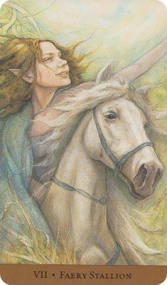 Chariot (I believe) - Tarot of the Hidden Realm