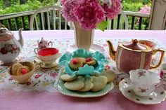 Hello everyone, . Homemade Cookies, Hello Everyone, House Gardens, Tablescapes, Tea Time, Are You Happy, Home And Garden, Invitations, Touch