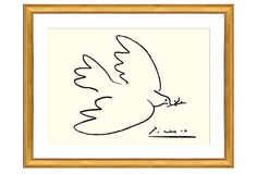 One Kings Lane - Find the Perfect Piece - Picasso, Dove of Peace (Serigraph)