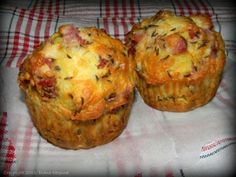 Muffins, Bacon, Recipies, Food And Drink, Breakfast, Muffin Cupcake, Recipes, Morning Coffee, Muffin