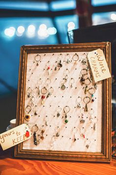 Maybe makes these with old fashioned keys, and have our names and wedding date on there?