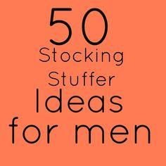 51 stocking stuffer ideas.