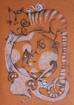Анечка Силивончик — талантливая художница из Белоруссии. В центре внимания ее творчества — тема любви, конфликт между духовным и плотским, желаемым и действительным. Подмечая выразительные детали, акцентируя выразительные моменты, обобщая и мифологизируя реальность, художница находит нечто трогательное и прекрасное в самых рядовых житейских проявлениях и ситуациях.