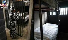 Hospedagem na 'prisão' é um assunto que tem se espalhado pelas redes sociais no mundo. Confira onde fica.