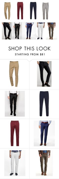 """""""Pantalones para profesional casual y casual informal"""" by giorella-silvana-vurro on Polyvore featuring Dsquared2, Entre Amis, Noose & Monkey, Paul Smith, Incotex, Ryan Seacrest Distinction, Brooks Brothers, Gilded Age, Camo y men's fashion"""