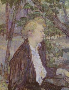 Henri de Toulouse-Lautrec Woman in the Garden 1891