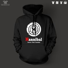 >> Click to Buy << Hannibal pullover hooded hoodie sweatershirt men unisex 10.3oz 82% organic cotton fleece inside high quality Free Shipping #Affiliate