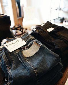 We love Frame Jeans! http://www.solematesinc.com/product-category/clothing/denim/  #FRAME