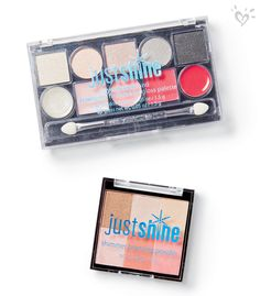 Just Shine eye and lip palettes and bronzers come in the most of-the-moment colors and hues! #girlsjustshine