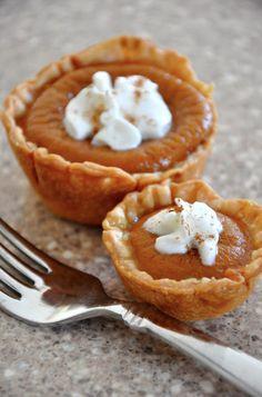 84. Bite Sized Pumpkin Pie | Community Post: 101 Pumpkin Recipes From Drinks To Dessert