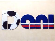 Letrero decorativo infantil - Corte en MDF- Pintura acrílica.