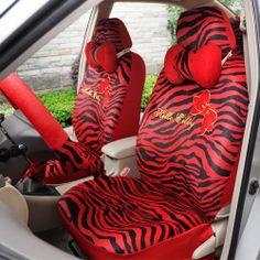Leopard Car Seat Covers