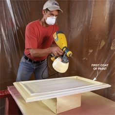 great cabinet painting tutorial