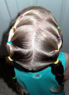Shaunell's Hair: Little Girl's Hairstyles -Cute Puffy Braids 7-10 min