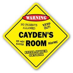 7505ecf2a42 CAYDEN S ROOM SIGN kids bedroom decor door children s name boy girl gift  Kids Wall Decals