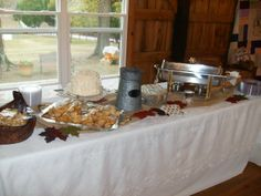 Evelyn Criswell Catering food table Catering Food, Alabama, Table Decorations, Furniture, Home Decor, Decoration Home, Room Decor, Home Furnishings, Arredamento