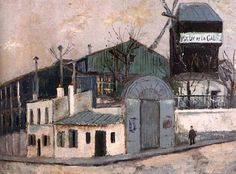 Le moulin de la Galette - Maurice Utrillo