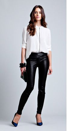 Leather pants!