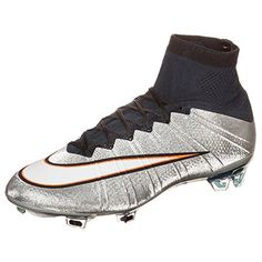 f55ab536ecc Amazon.com: Nike Mercurial Superfly CR7 FG - Metallic Silver Size 11:  Sports & Outdoors. Nike Football ...