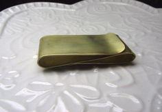Brass money clip, $68
