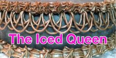 The Iced Queen - web site with piping ideas