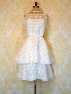 Vintage 1950's Ceil Chapman dress