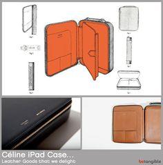 Céline iPad Case… Leather Goods that we delight MXS
