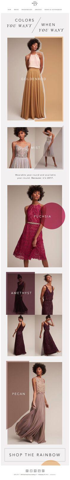 gorgeous email newsletter design (Beauty Design Advertising)