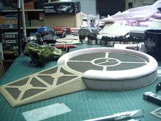 Tau Skyshield landing pad