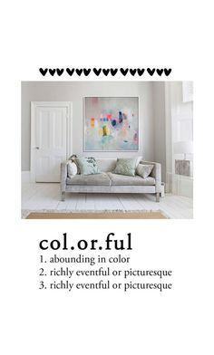 """""""col.or.ful"""" by oanacorina ❤ liked on Polyvore featuring interior, interiors, interior design, home, home decor and interior decorating"""