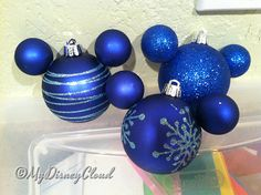 So you've got your Christmas tree and you notice that its got the right smell and the right lights but something's missing… the ornaments!  Ornaments form Disney stor…