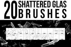 Check out 20 Shattered Glass Brushes by stockgorilla on Creative Market (Add-Ons, Brushes) Glass Photoshop, Free Photoshop, Photoshop Brushes, Photoshop Actions, Lightroom, 80s Background, Background Images, Website Background Design, Shattered Glass