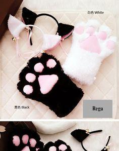 Cat Paw Gloves weeb
