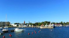 View over Hanko, Finland.
