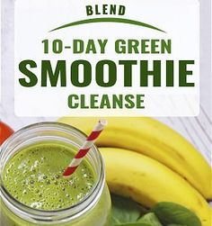 Do you ever feel stuck at your current weight, with low energy and bad eating habits? Break free with a 10-day green smoothie cleanse!