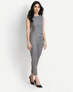 7be93bb40c7a Buy Grey Blaze Co-ords Trousers Set Online at StalkBuyLove |  IN1636MTOCOOGRY-110