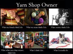 Yarn Shop Owner Meme