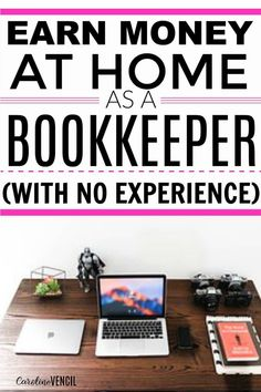I had no idea that you could make a full time income from home as a bookkeeper! Literally living the dream! Earn Money From Home, Make Money Fast, Make Money Online, No Spend Challenge, Working Mom Tips, Living At Home, Frugal Living, Work From Home Moms, Money Management