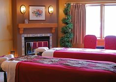 Lavender Spa Fish Creek | Door County: The spa isn't especially luxurious, but Teri is an amazing massage therapist. Must remember to ask for her in the future!