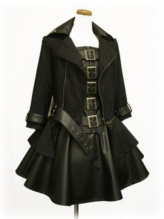... costum, lady pirate, steampunk fashion, cloth, corsets, outfit, dresses, blog, coat