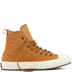Chuck Taylor All Star Waterproof Nubuck Men's Boot Raw Sugar. Most comfortable and warm Converse I've ever wear. Still to see if they are totally waterproof...