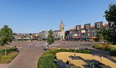 Ede Market Square « Landscape Architecture Platform | Landezine Landscape Architecture, Playground, Platform, Marketing, Mansions, Park, House Styles, Home, Kids
