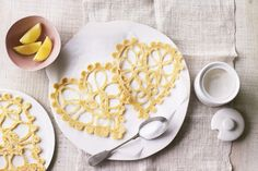 Give someone a treat this weekend. Make them these lace pancakes from The Great British Bake Off