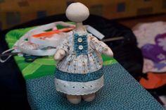 Съемное платье для куклы - Ярмарка Мастеров - ручная работа, handmade