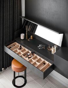 Quirky Home Decor Home Room Design, Modern Bedroom Design, Home Interior Design, House Design, Modern Luxury Bedroom, Modern Office Design, Wardrobe Room, Wardrobe Design Bedroom, Home Bedroom